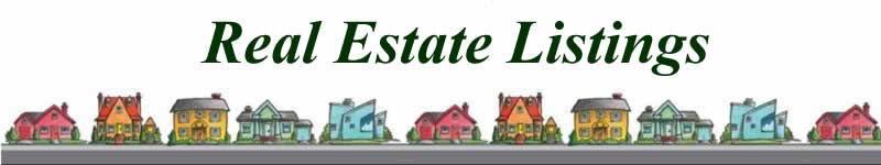 Real Estate Listings Section